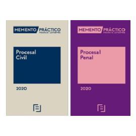 Pack Memento Procesal Civil 2020+Memento Procesa Penal 2020