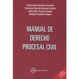 Manual de derecho procesal civil 2019