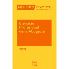 Memento ejercicio profesional de la abogacía 2021