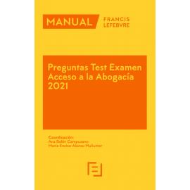 Pack Memento Ejercicio Profesional de la Abogacía 2021 + Manual Preguntas Test Examen Acceso a la Abogacía 2021