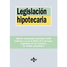 Legislación hipotecaria 2020