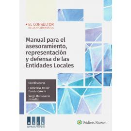 Manual para el Asesoramiento, Representación y Defensa de las Entidades Locales