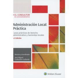 Administración local práctica 2020. Casos prácticos de derecho administrativo y haciendas locales