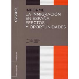 Informe 02/2019 Inmigración en España: Efectos