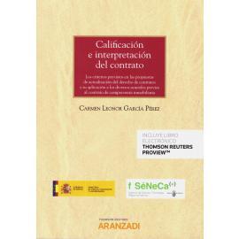 Calificación e Interpretación del Contrato.