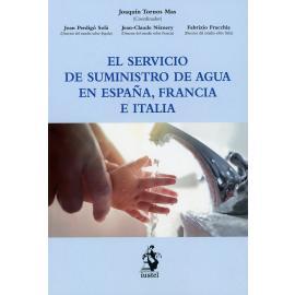 El Servicio de Suministro de Agua en España, Francia e Italia