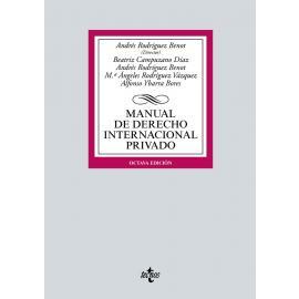 Manual de Derecho Internacional Privado 2021. Tecnos