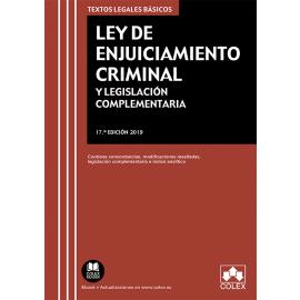 Ley de enjuiciamiento criminal y legislación complementaria