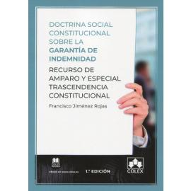 Doctrina social constitucional sobre la garantía de indemnidad. Recurso de amparo y especial trascendencia constitucional