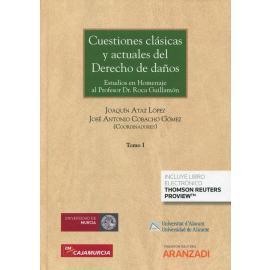 Cuestiones clásicas y actuales del derecho de daños. 3 Vols. Estudios en Homenaje al Profesor Dr. Roca Guillamón