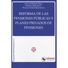 Reforma de las pensiones públicas y planes privados de pensiones