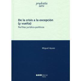 De la crisis a la excepción (y vuelta). Perfiles jurídico-políticos