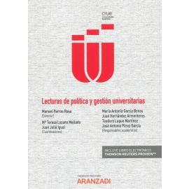 Lecturas de política y gestión universitarias