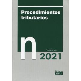 Procedimientos tributarios. Normativa 2021