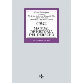 Manual de Historia del Derecho 2021