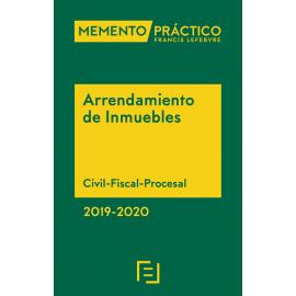 Memento Arrendamiento de Inmuebles 2019-2020