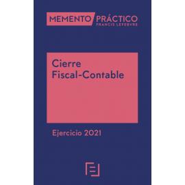 Memento Cierre fiscal-contable. Ejercicio 2021