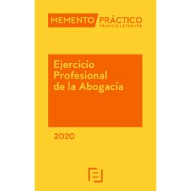 Pack Memento Ejercicio Profesional de la Abogacía 2020 + Manual Preguntas Test Examen Acceso a la Abogacía 2019-2020