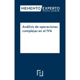 Análisis de operaciones complejas en el IVA