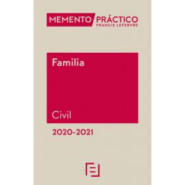 Memento Familia Civil 2020-2021