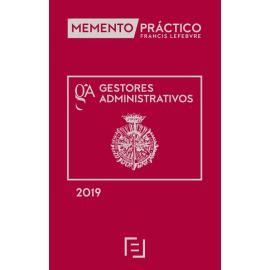 Memento Práctico Gestores Administrativos 2019
