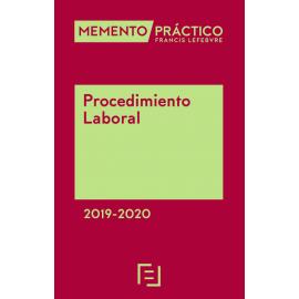 Memento Procedimiento Laboral 2019-2020