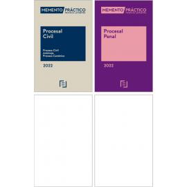 Pack Memento Procesal Civil 2022 +Memento Procesal Penal 2022