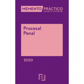 Memento Procesal Penal 2020