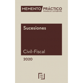Memento Sucesiones. Civil-Fiscal 2020