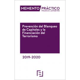 Memento Prevención del Blanqueo de Capitales y la Financiación del Terrorismo 2019-2020