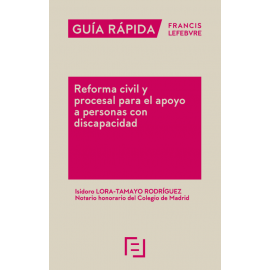 Reforma civil y procesal para el apoyo a personas con discapacidad
